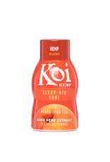 Koi Koi Peach Ice Tea Sleep-Aid Shot + Melatonin 25mg  2.5oz