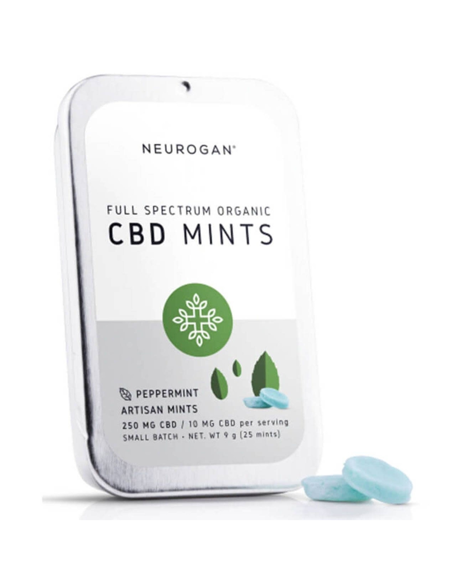 Neurogan Neurogan Full Spectrum CBD Mints 250mg 25ct