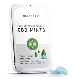 Neurogan Neurogan Full Spectrum CBD Mints 500mg 25ct