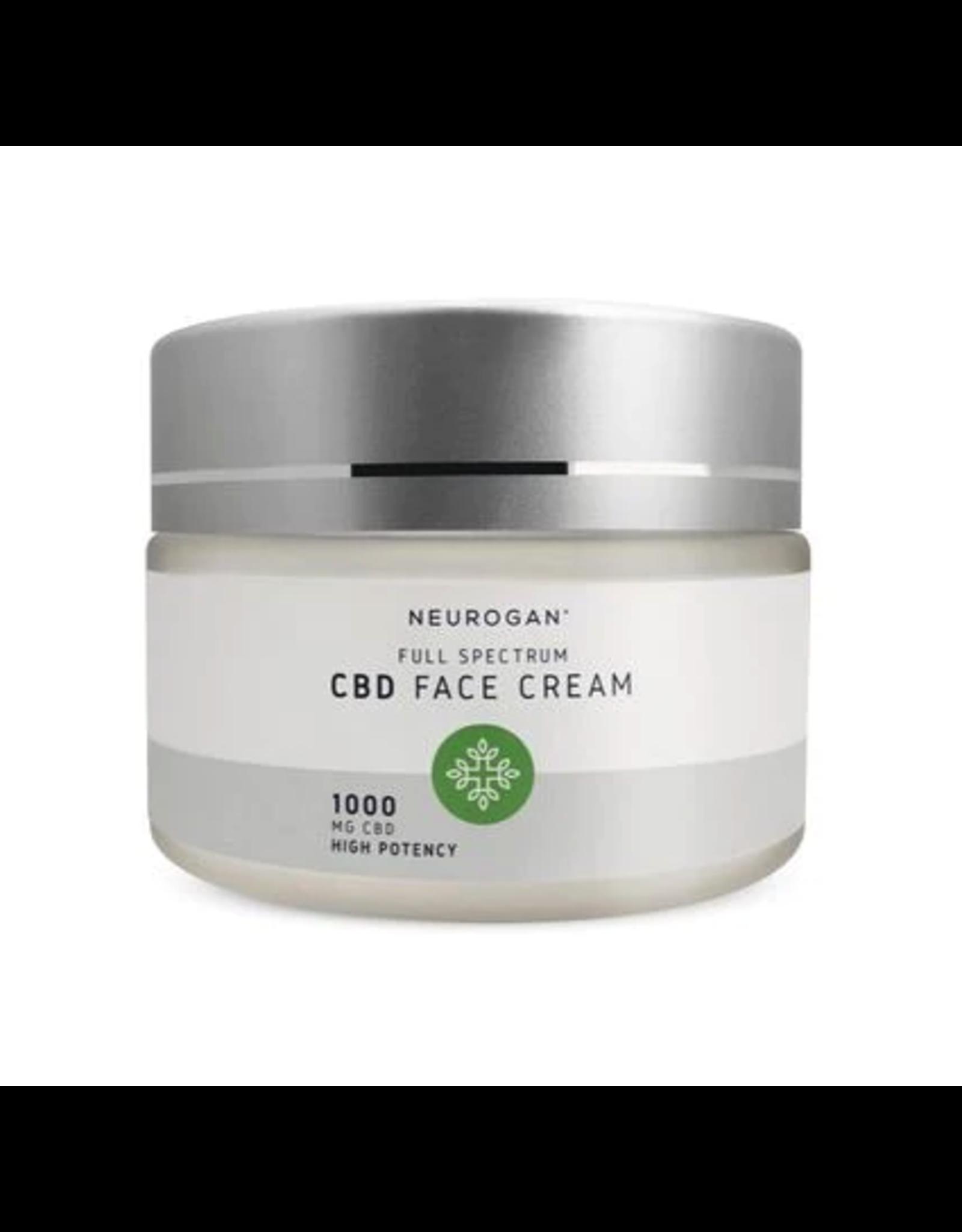 Neurogan Neurogan Full Spectrum CBD Face Cream 1000mg 1oz