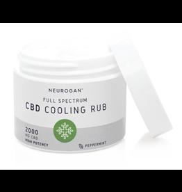 Neurogan Neurogan Full Spectrum CBD Cooling Rub 2000mg 2oz