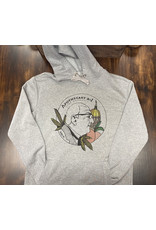 Next Level Apparel Apothecary ATL Hoodie Gray Small