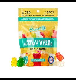 Sunset CBD Sunset CBD Sugar Free Gummies 300mg 15ct