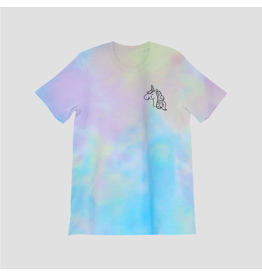 Mad Tasty Mad Tasty Unicorn Tears Tie Dye Tee Large