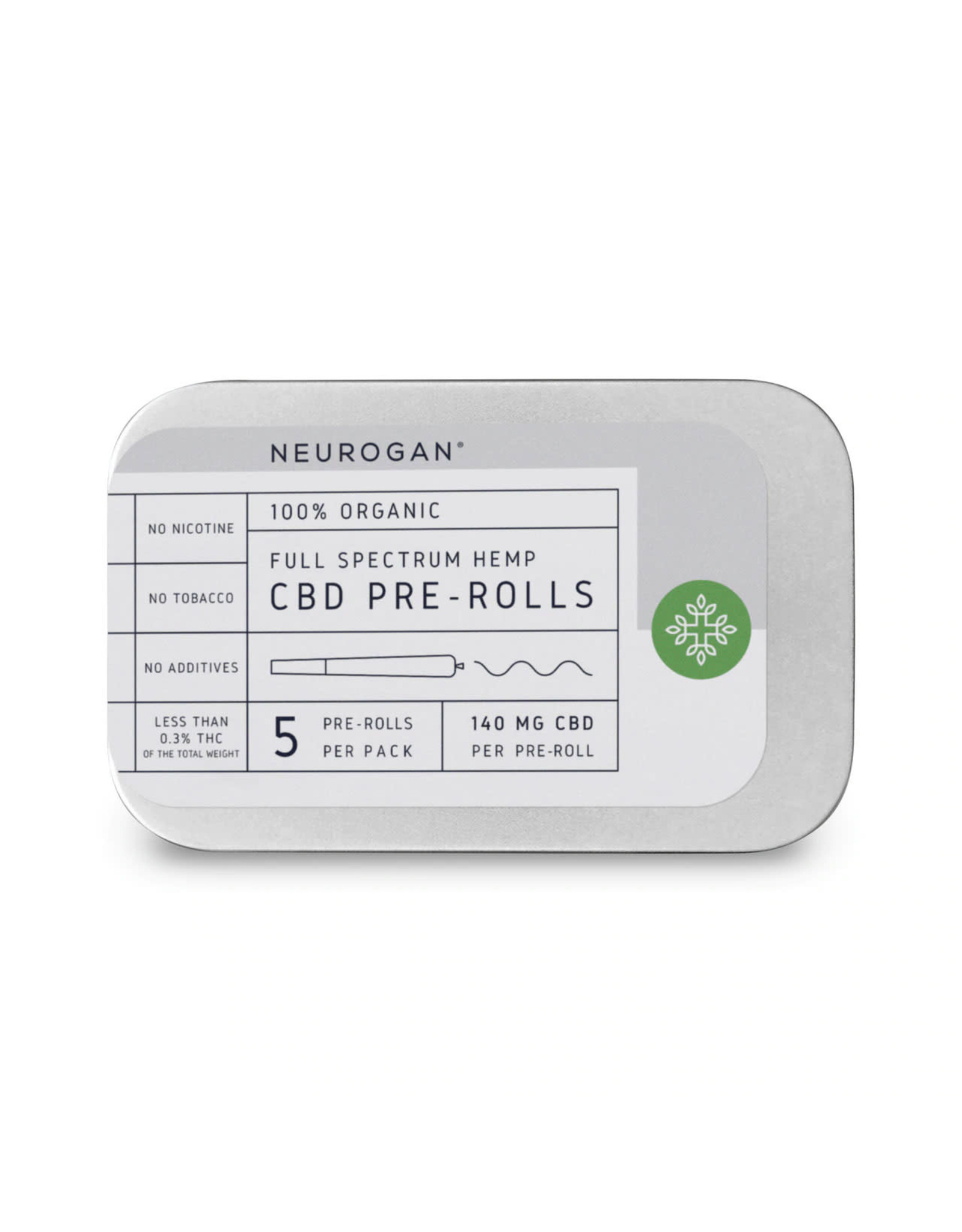 Neurogan Neurogan Full Spectrum Pre Roll 5pk