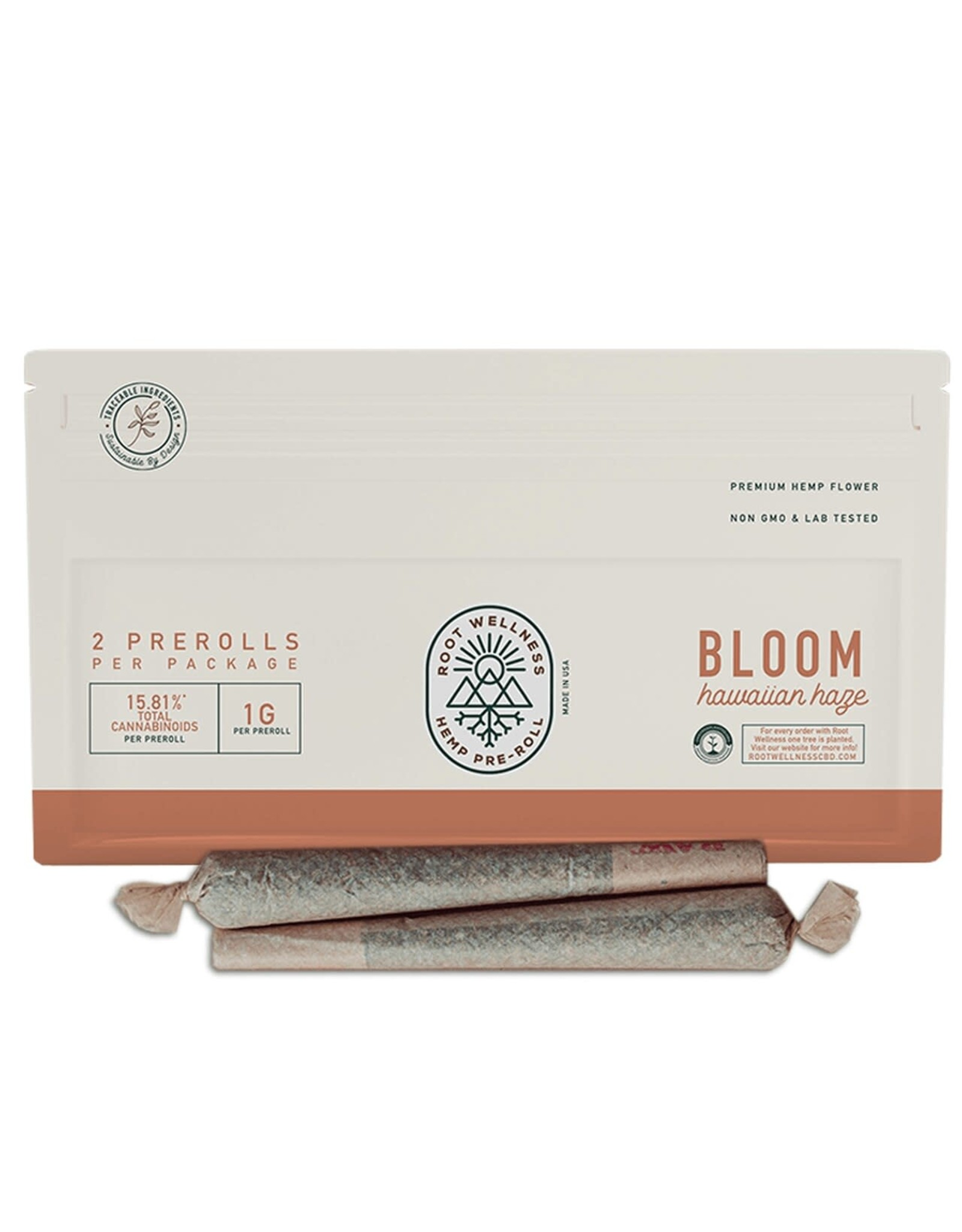 Root Wellness Root Wellness Bloom Pre Roll 2pk
