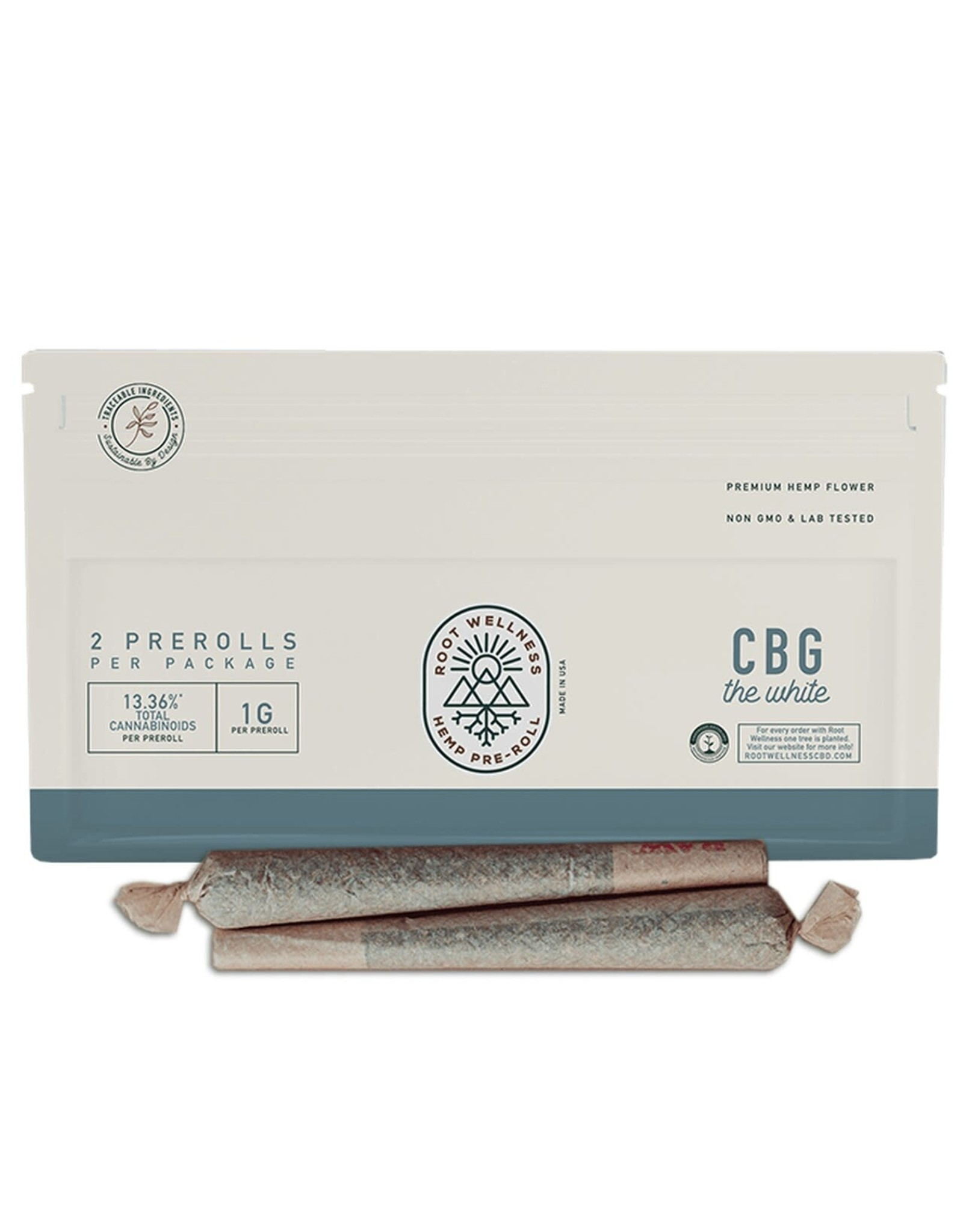 Root Wellness Root Wellness CBG Pre Roll 2pk
