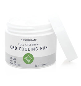 Neurogan Neurogan Full Spectrum CBD Cooling Rub 1000mg 2oz