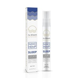 Nu Bloom Nu Bloom Nano CBD Oral Spray Sleep 120mg 8ml
