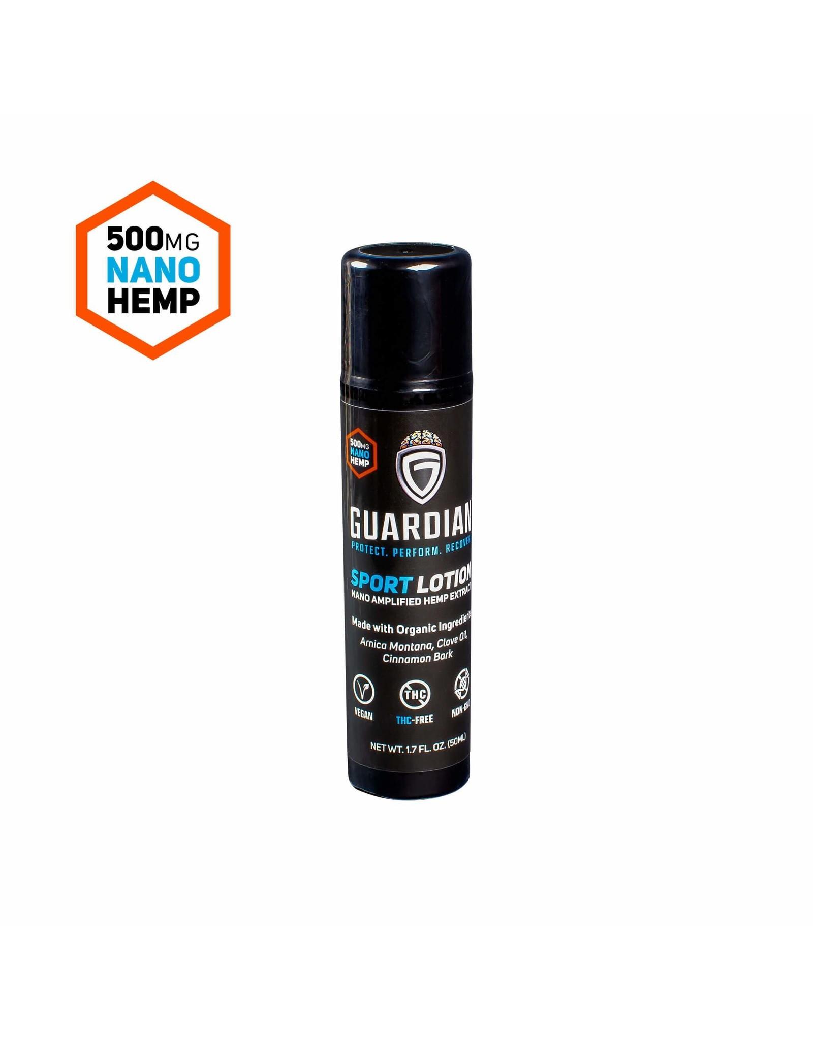 Guardian Guardian Nano CBD 500mg  Lotion 1.7oz