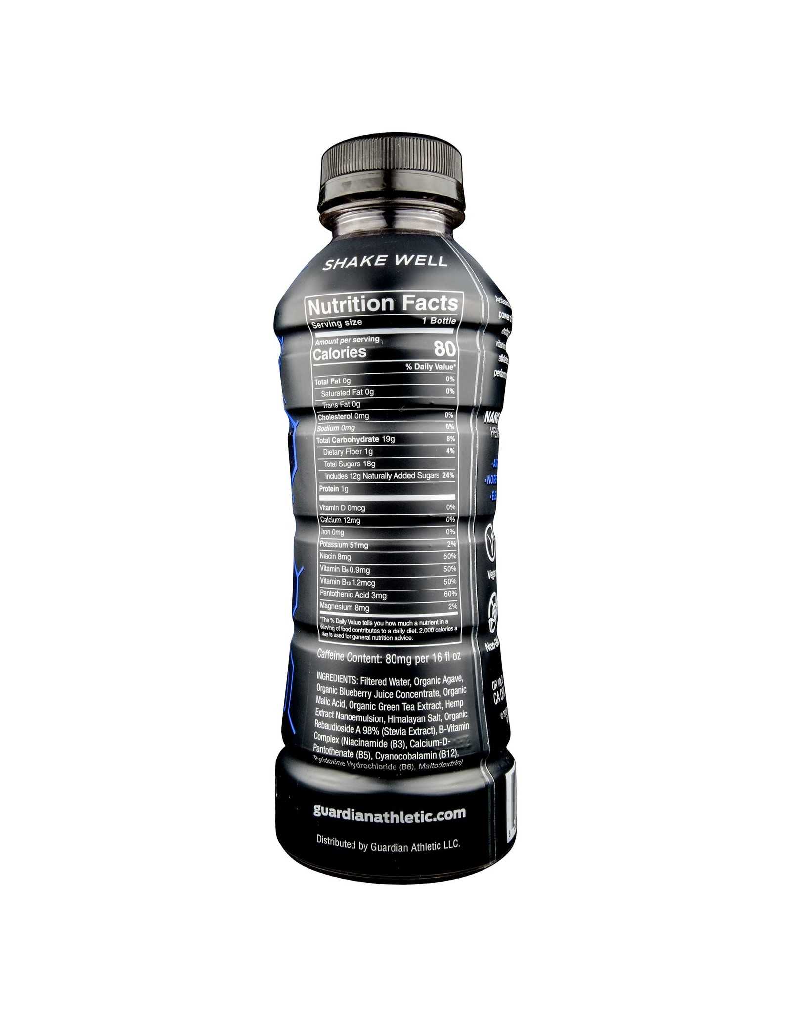 Guardian Rehydration 15mg Nano Hemp Berry 16oz