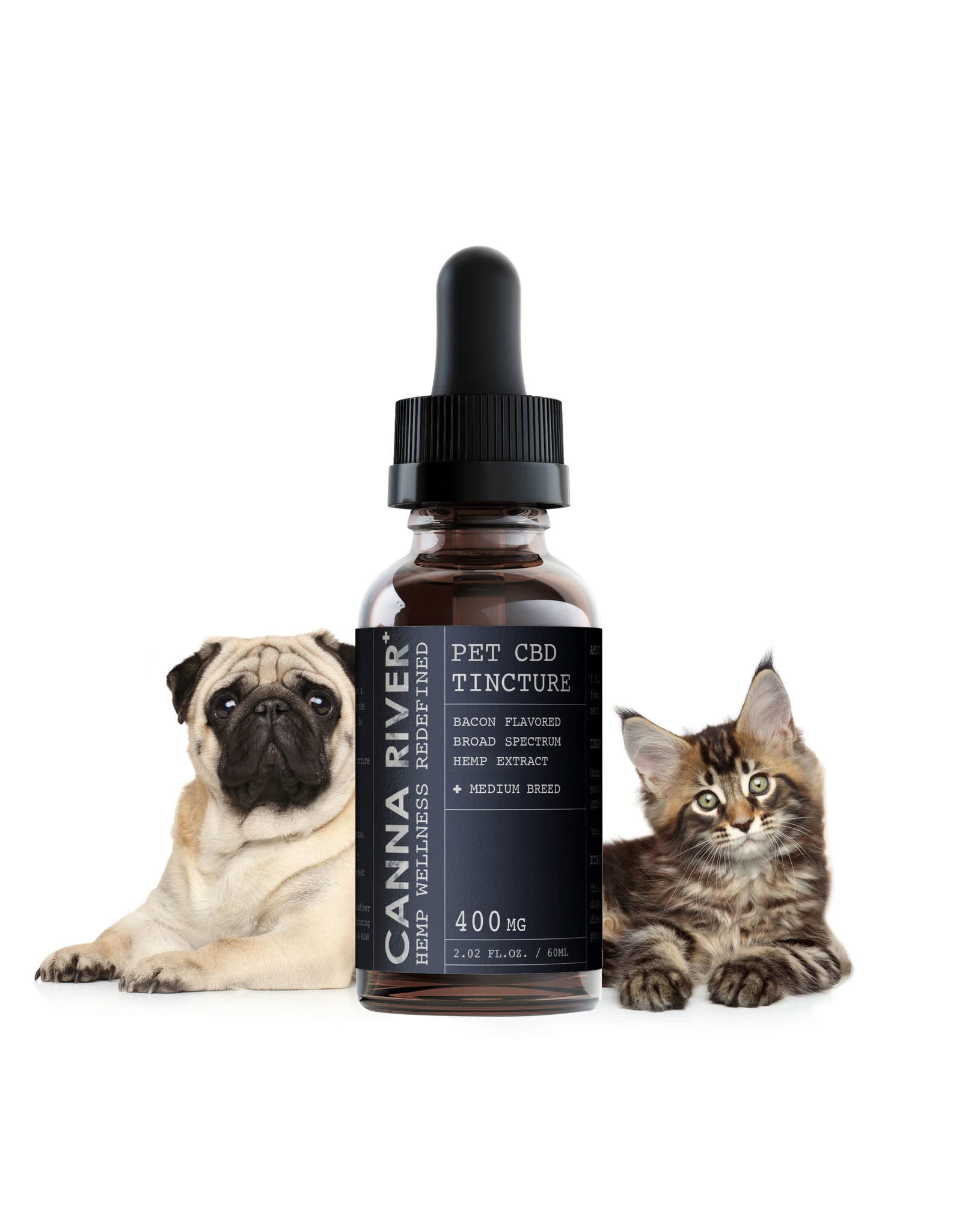Canna River Canna River Broad Spectrum Bacon Med Pet 400mg 2oz
