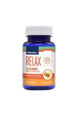 CBDistillery CBDistillery Broad Spectrum Relax Gummies Tropical 30mg 25ct