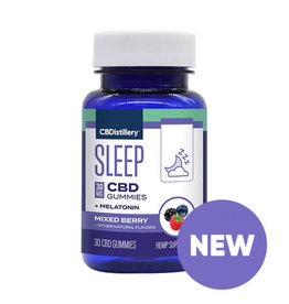 CBDistillery CBDistillery Broad Spectrum Sleep Gummies Mixed Berry 30mg 25ct