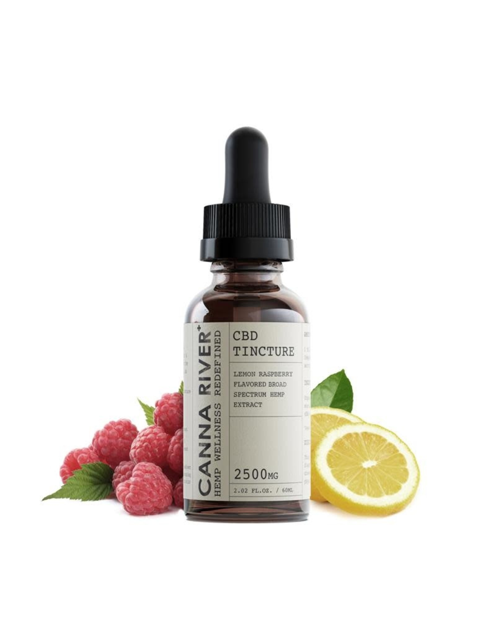 Canna River Canna River Full Spectrum CBD Lemon Raspberry 2500mg 2oz