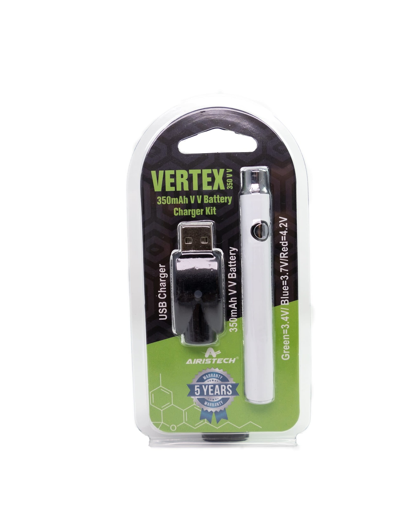 Vertex 350mAH Pen Battery
