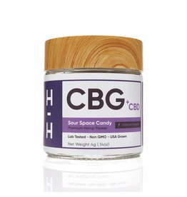 HHemp HHemp  CBG + CBD Sour Space Candy Hybrid Flower 4gr