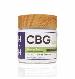 HHemp HHemp  CBG + CBD Special Sauce Indica Flower 4gr