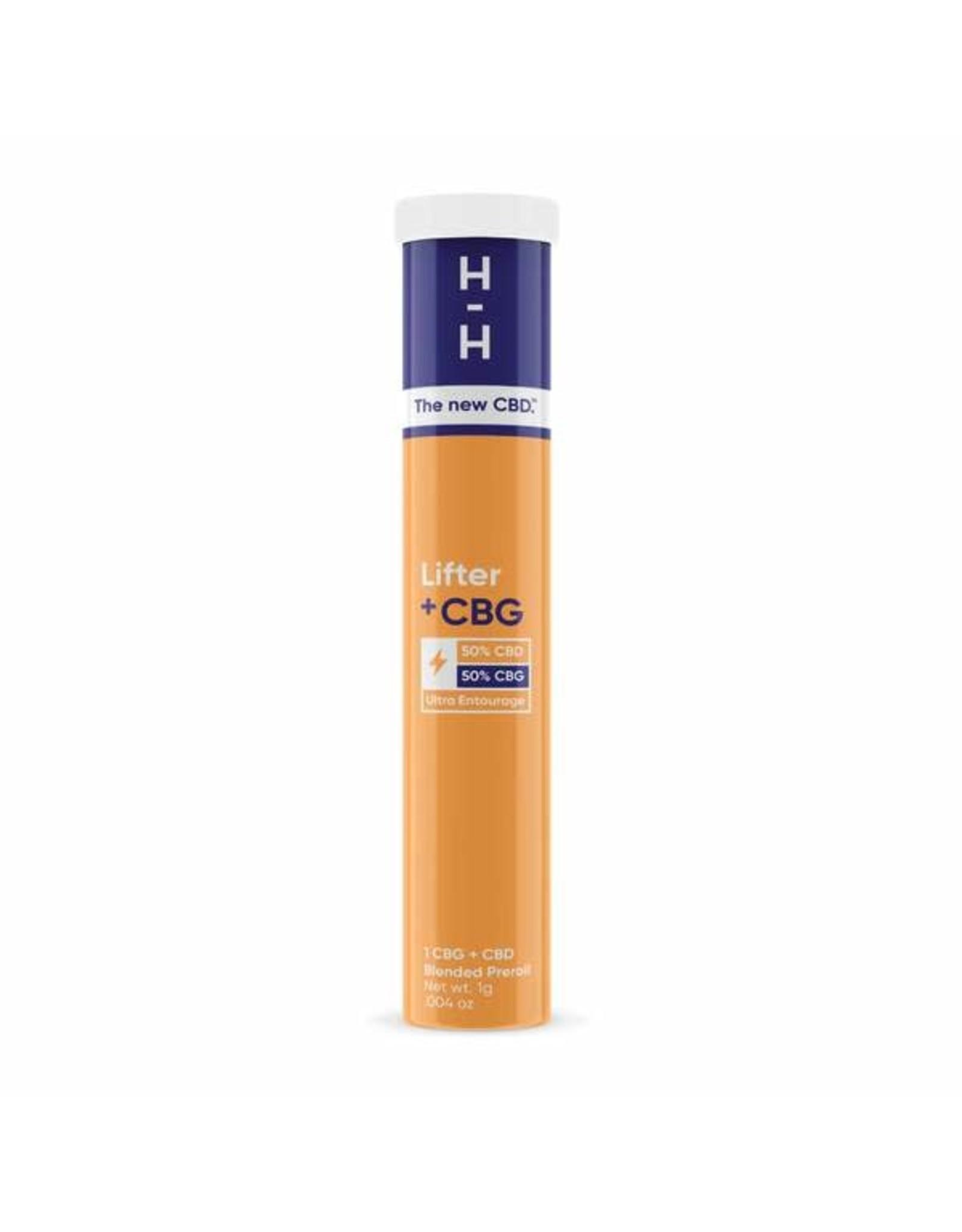 HHemp HHemp Preroll CBG+CBD  Lifter Hybrid 1gr