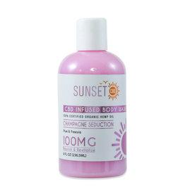 Sunset CBD Sunset CBD Pure Seduction Body Wash 100mg 8oz