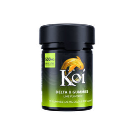 Koi Koi Delta 8 Lime Gummies 25mg 20ct