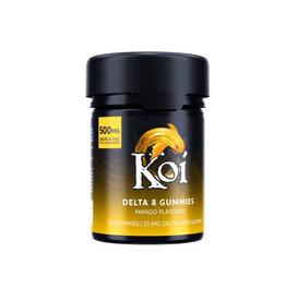 Koi Koi Delta 8 Mango Gummies 25mg 20ct