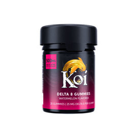 Koi Koi Delta 8 Watermelon Gummies 25mg 20ct