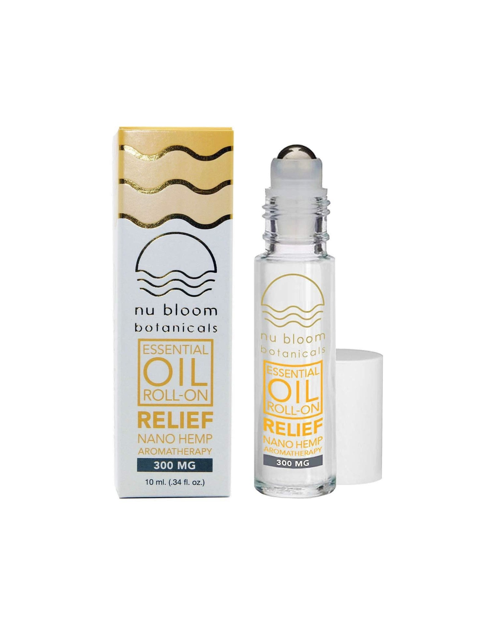 Nu Bloom Nu Bloom Nano CBD Relief Roll On 500mg 30ml