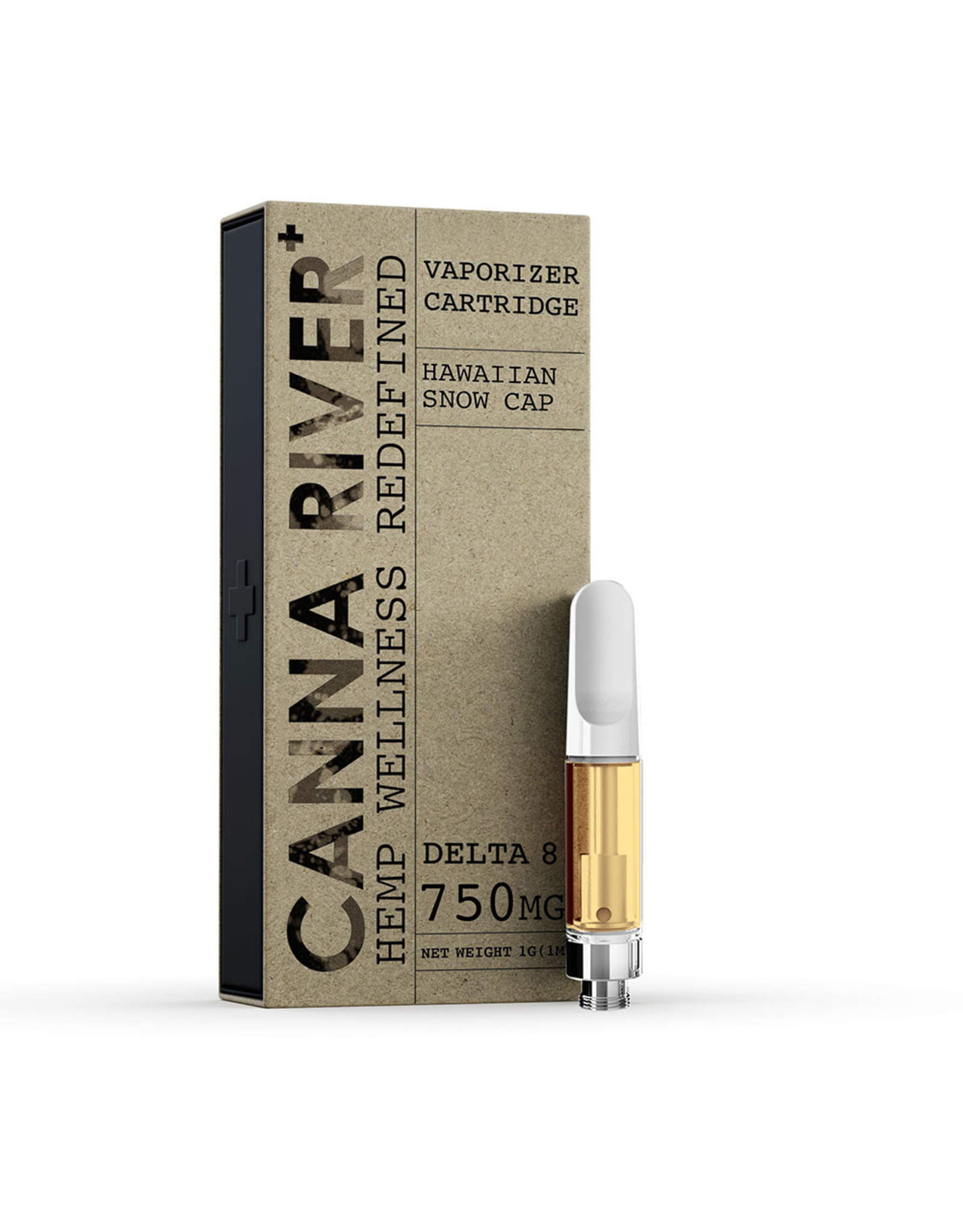 Canna River Canna River Delta 8 Hawaiian Snow Cap Cartridge 750mg