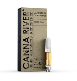 Canna River Canna River Delta 8 Sour GMO Cartridge 600mg