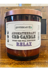 Apothecary Rx Apothecary Rx Aromatherapy CBD Candle  Relax- 100mg 8oz