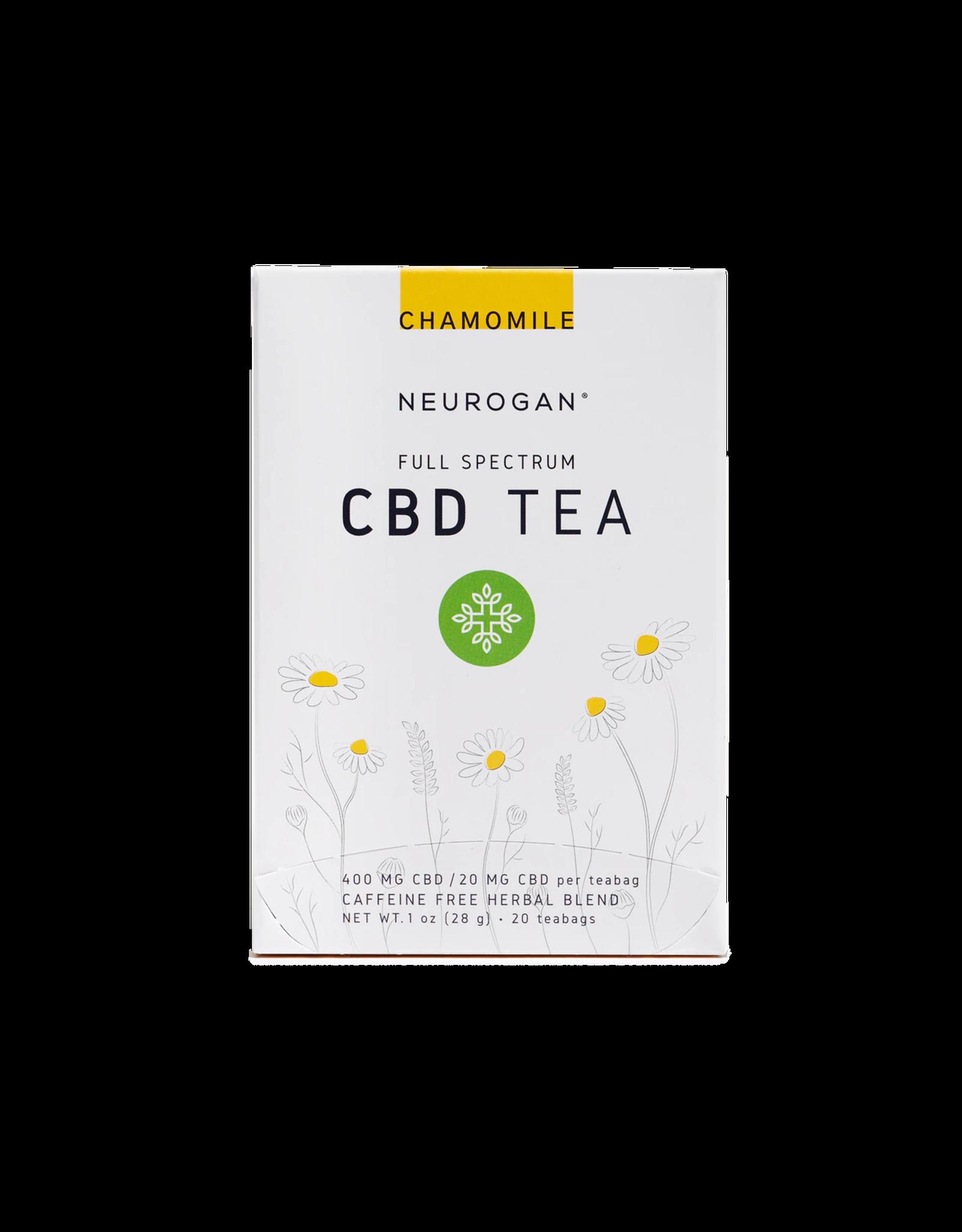 Neurogan Neurogan Full Spectrum Chamomile  CBD Tea 20mg 20ct