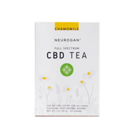 Neurogan Neurogan Full Spectrum Chamomile  CBD Tea 20mg 20ct