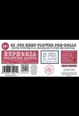 Apothecary Rx Apothecary Rx Delta 8 CBD Euphoria Pre-Roll 2ct 1.5gr