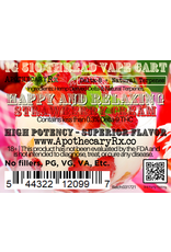 Apothecary Rx Apothecary Rx Delta 8 Happy and Relaxing Strawberry Cream  Hybrid Cartridge 1gr