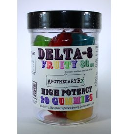 Apothecary Rx Apothecary Rx Delta 8 Gummies Fruity 30mg 20ct