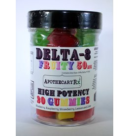 Apothecary Rx Apothecary Rx Delta 8 Gummies Fruity 50mg 20ct