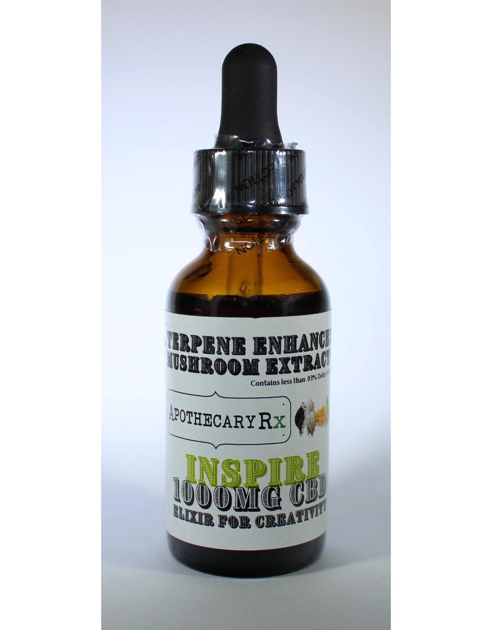 Apothecary Rx Apothecary Rx INSPIRE Elixir for Creativity 1000mg Full Spectrum
