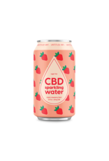 Untitled Art Untitled Art  CBD Strawberry  Sparkling Water 20mg 12fl oz