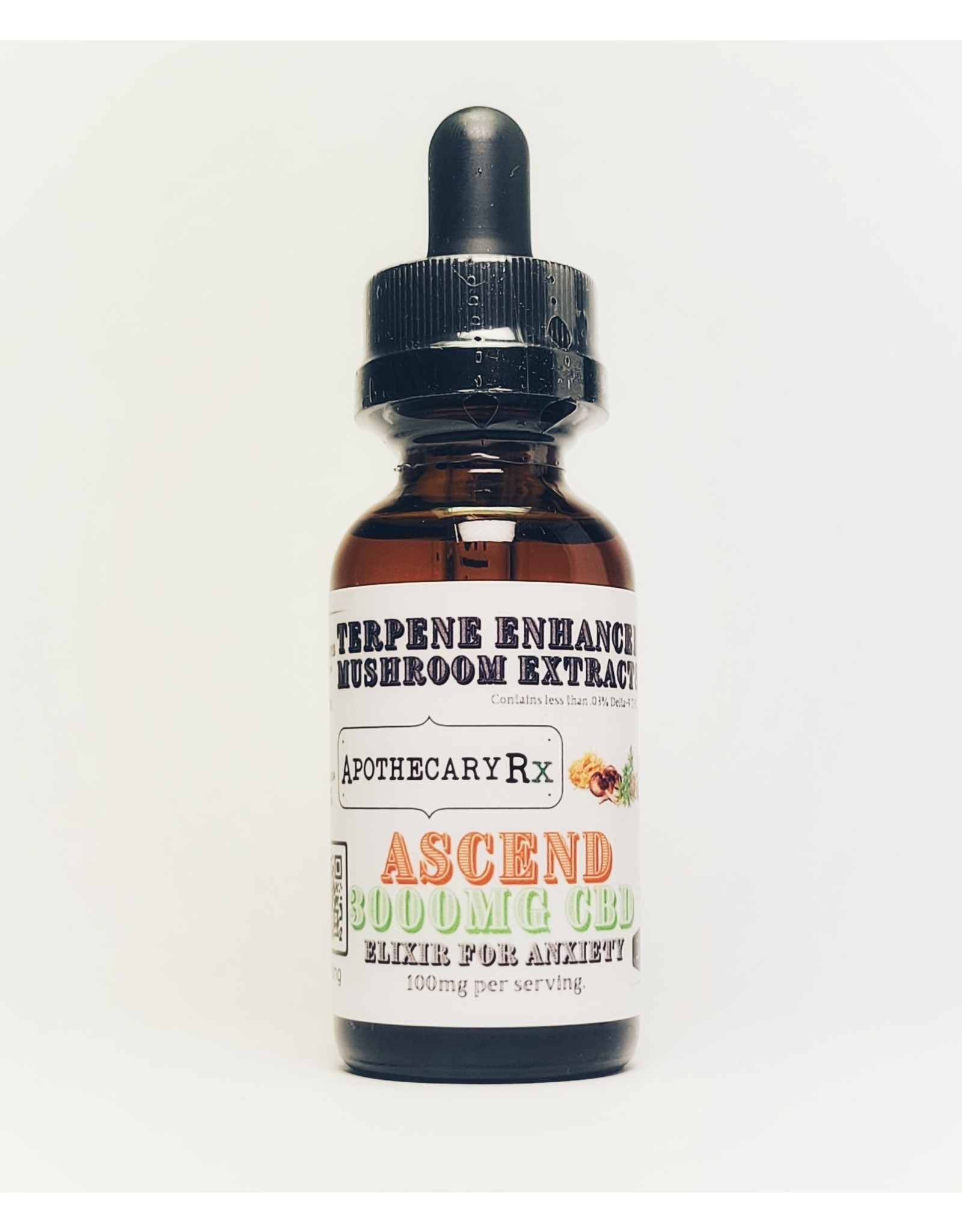 Apothecary Rx Apothecary Rx ASCEND Elixir for Anxiety 3000mg Full Spectrum