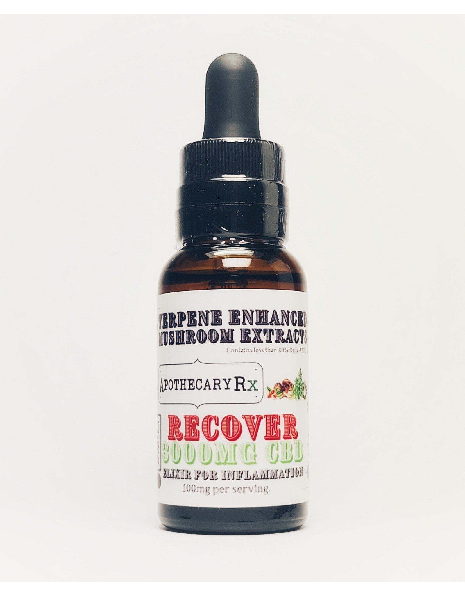 Apothecary Rx Apothecary Rx RECOVER Elixir for Inflammation 3000mg Full Spectrum