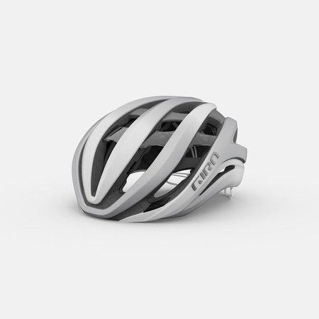 Giro Cycling Giro Aether MIPS Adult Road Bike Helmet - Matte White/Silver - Size M (55-59 cm)