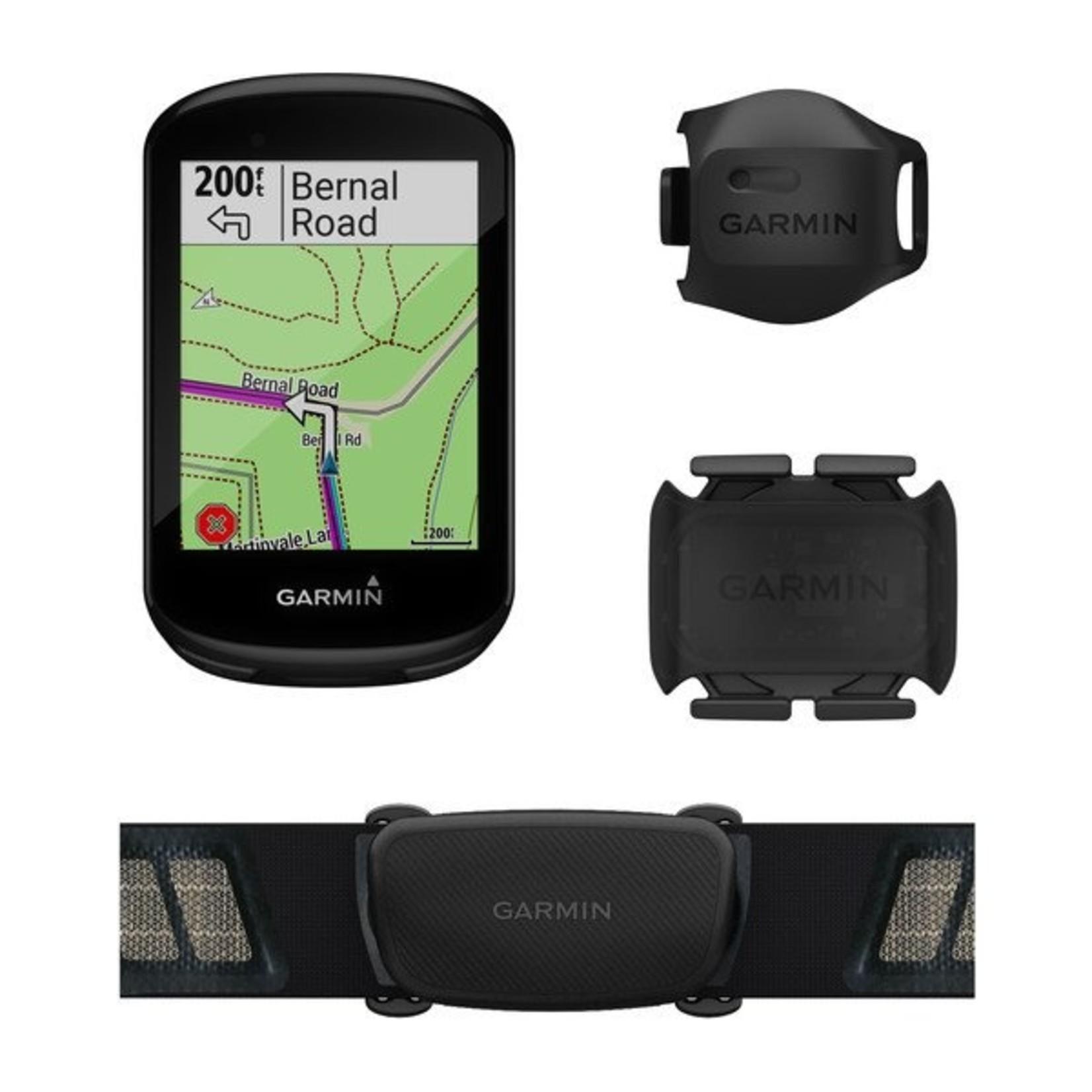 Garmin Garmin, Edge 830 Bundle, Computer, GPS: Yes, HR: Yes (Chest), Cadence: Yes, Black, 010-02061-10