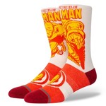 Stance IRON MAN MARQUEE SOCK LRG RED