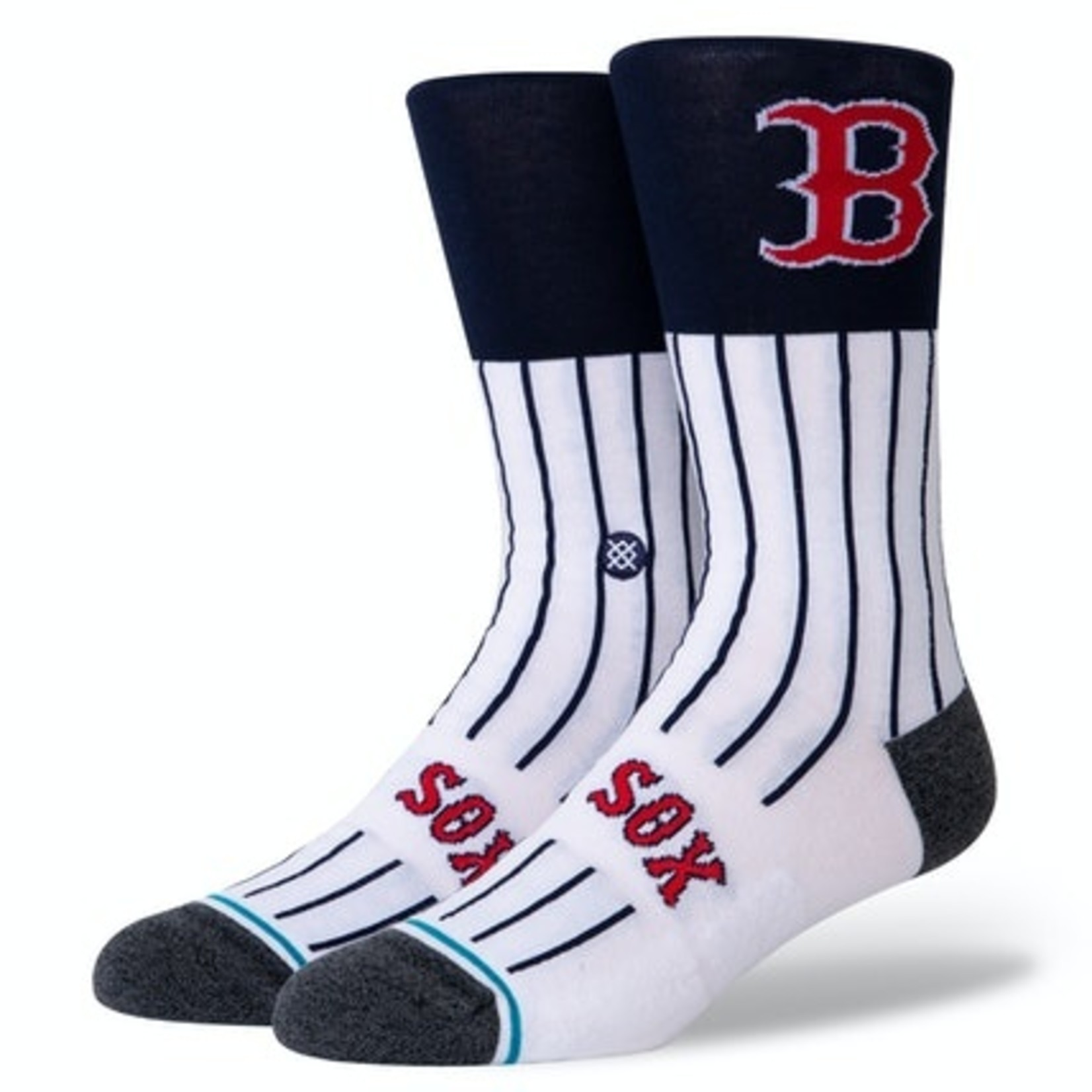 Stance BOS COLOR SOCK WHITE LRG