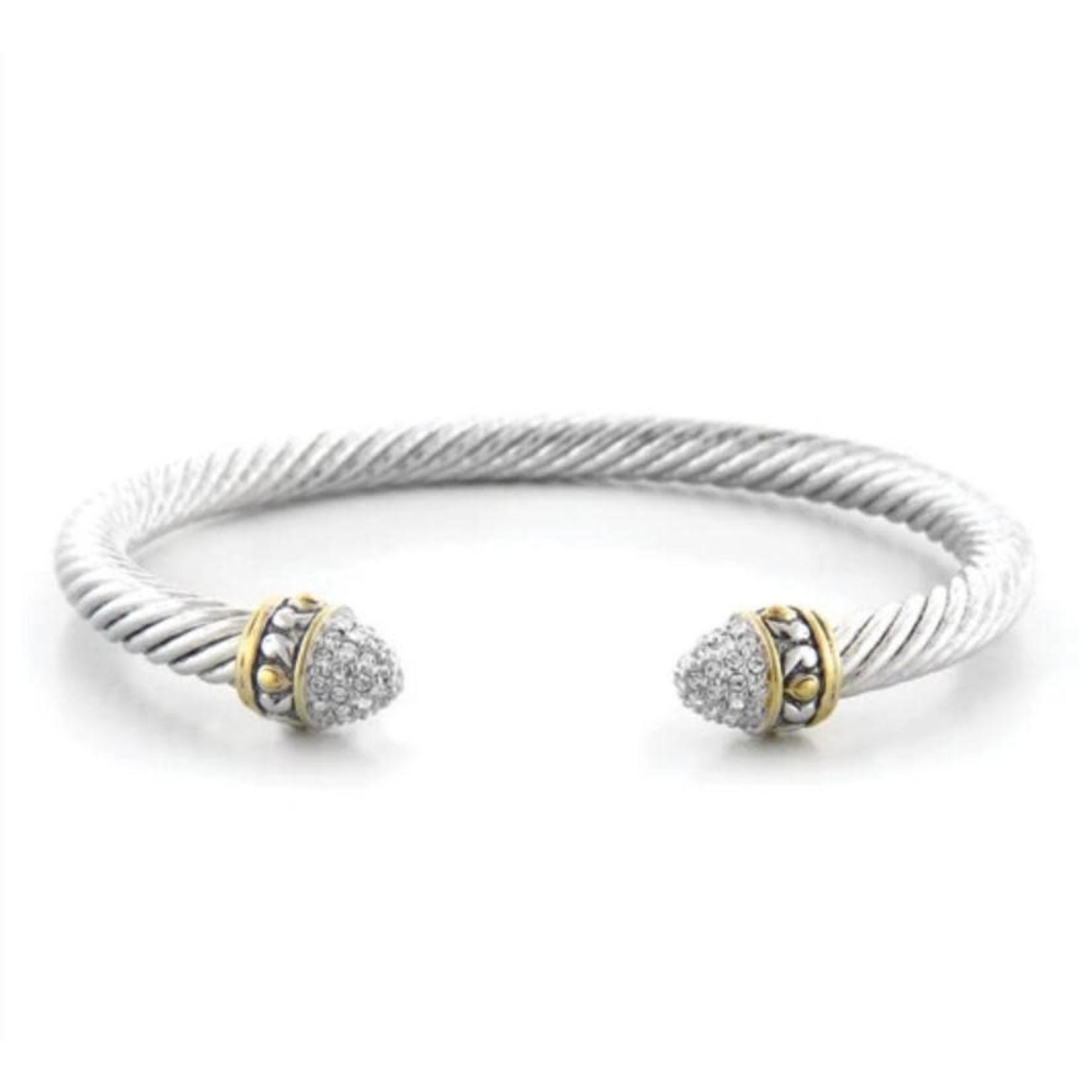 John Medeiros John Mederios Thin Rope Wire Bracelet