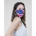 American Flag cloth mask