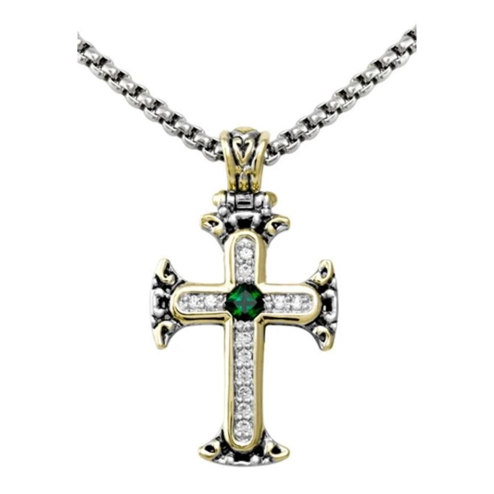 John Medeiros John Mederios Cross Necklace