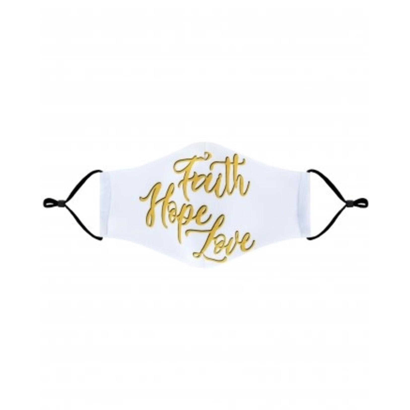 Faith Hope Love cloth mask