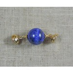Casuals Fairhope Lapis Magnet Gold Enhancer